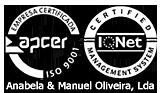 Empresa certificada APCER IQNet